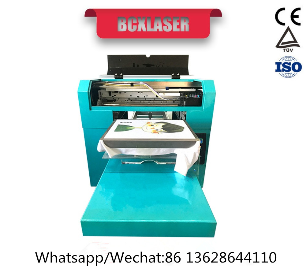 3D direct to garment printer t shirt printing machine with high quality - 4