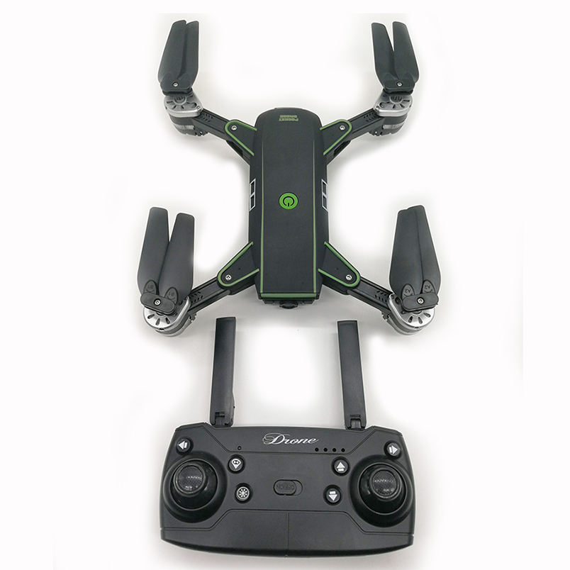 19HW Selfie Folding Drone Quadcopter with 200W Wide-angle Camera APP Control FPV Drone Headless Mode 360 Degree Flip RC Aircraft