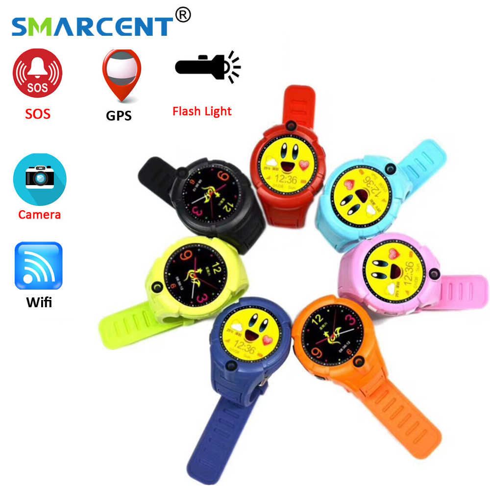 Q360 Kids Smart Watch with Camera GPS Location Child children smartwatch watches SOS Anti-Lost Monitor Tracker baby smart watch