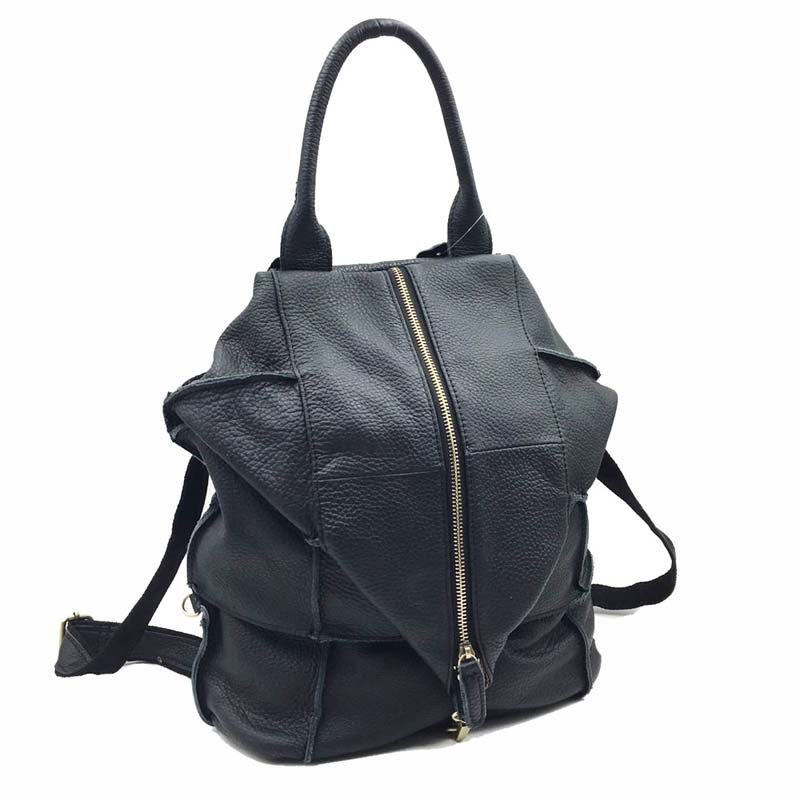 AETOO 2018 brand leather travel backpack Korean fashion leather shoulder bag factory direct sales xiyuan brand factory direct sales girl new national wind embroidery bag embroidered fashion 100% genuine leather lady backpack
