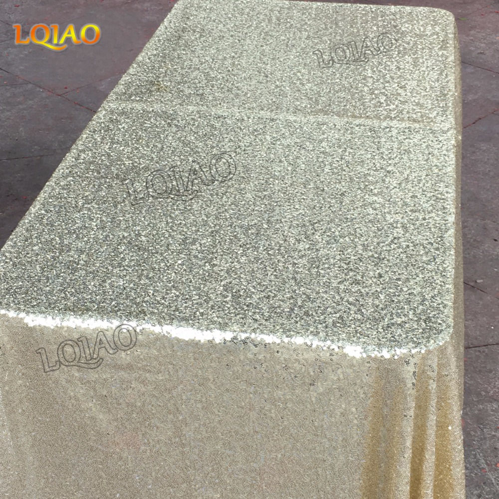 Rectangle Sequin Tablecloth-09
