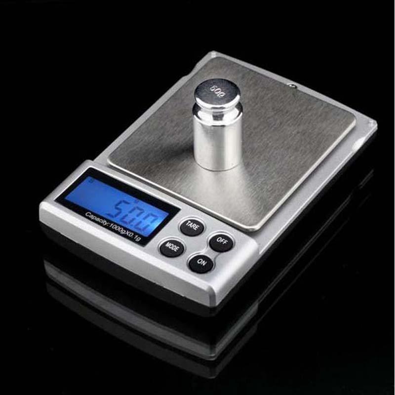 Kitchen 0.1g-1000g / 1000gX0.1g / Mini Electronic digital LCD Display Balance Weight Scale Measuring Tool