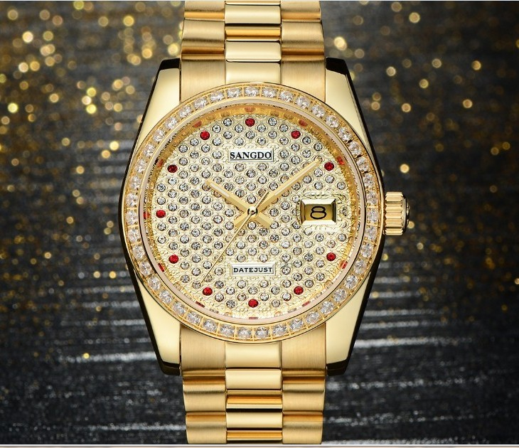 38mm Sangdo Luxury watches Automatic Self Wind movement Sapphire Crystal High quality 2017 new fashion Men's watch 048A|watch automatic|watch f|watch fashion - title=