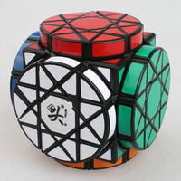 Brand New Dayan Wheel of Wisdom Rotational Twisty Magic Cube Speed Puzzle Cubes Toys for kid Children