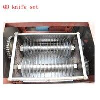 Машина для резки мяса 2-20 мм лезвие резак для мяса