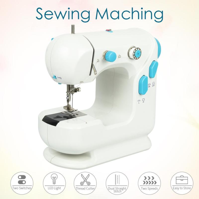 High Quality mini sewing machine home mini sewing machine European regulations EU plug DIY Electric Garment With LED 3