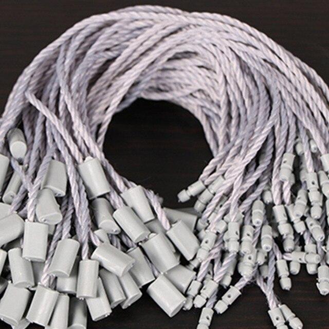 1000 pièces en plastique bloc boucle pendaison corde Spot haute qualité étiquette corde pendaison Granule main corde nouvelle arrivée certificat personnalisé