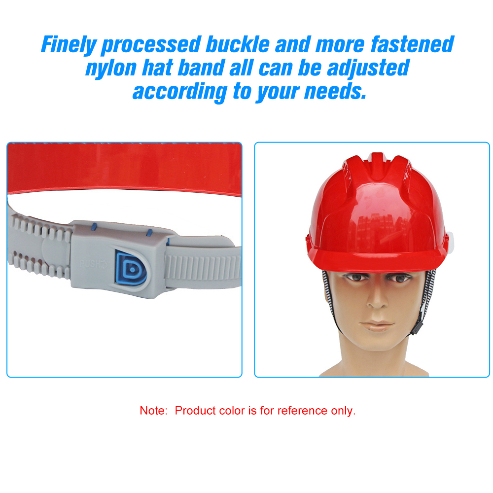Safety Helmet Back To Search Resultssecurity & Protection Safety Helmet Warehouse Worker Hard Hat Breathable Plastic Insulation Material To Have A Long Historical Standing