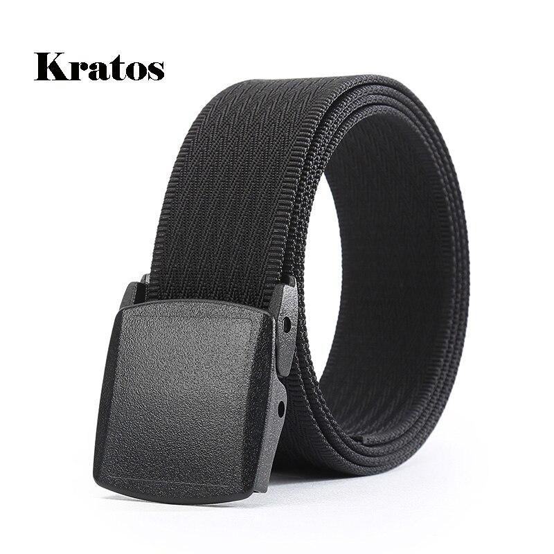 LXLXRURU noir ceinture avec boucle pour hommes de luxe marque tactique  ceintures En Nylon Loisirs Militaire b15bc306a09