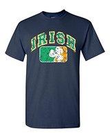 Paint Print Cheap T ShirtVintage Irish Flag Shamrock T Shirt Saint Patrick S Day Shirts100 Cotton