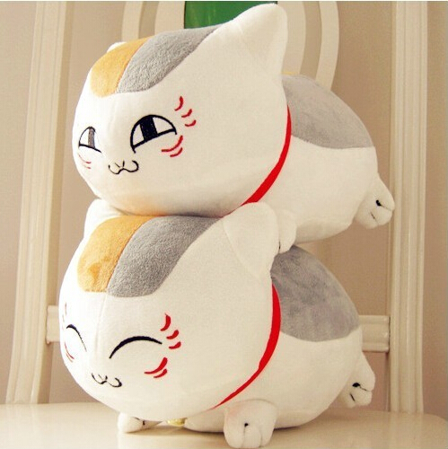 Natsume Yuujinchou Nyanko Sensei Plush Cat Anime Doll Toy Xmas Christmas Gift 1pcs 8