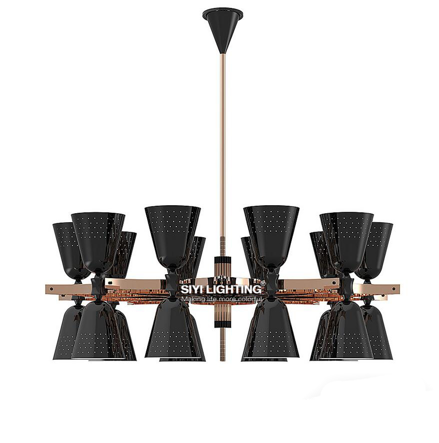 Delightfull Heritage Charles Suspension Light Contemporary Pendant lamp for dining room living room restaurant contemporary living space