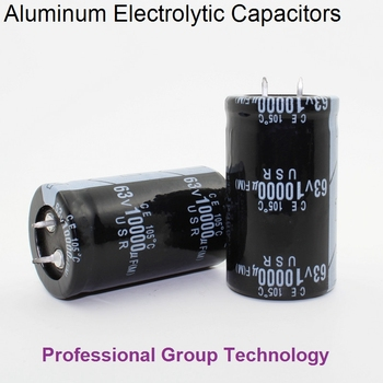 20pcs EC730 Good quality 63v10000uf Radial DIP Aluminum Electrolytic Capacitors 63v 10000uf Tolerance 20% size 30x50MM 20%