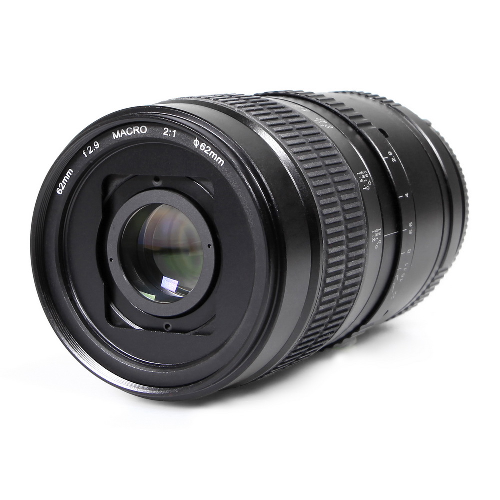 Meking 62mm F2.9 2:1 2X Standard Prime Ultra Macro Lens for APS-C DSLR Camera with Free CPL Filter PK NEX M4/3 E Mount Available
