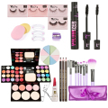 Portable Makeup Kits Gift Set Eyeshadow Foundation Blusher Powder Brushes Maquiagem