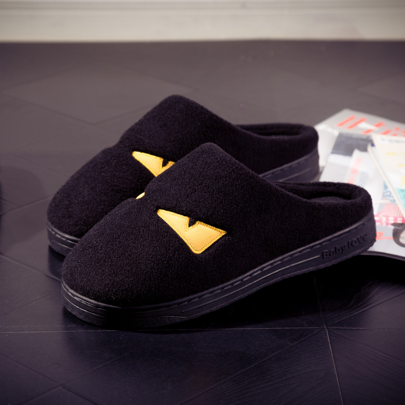 2016 Monster Top House Plush Comfortable Slippers Shoes