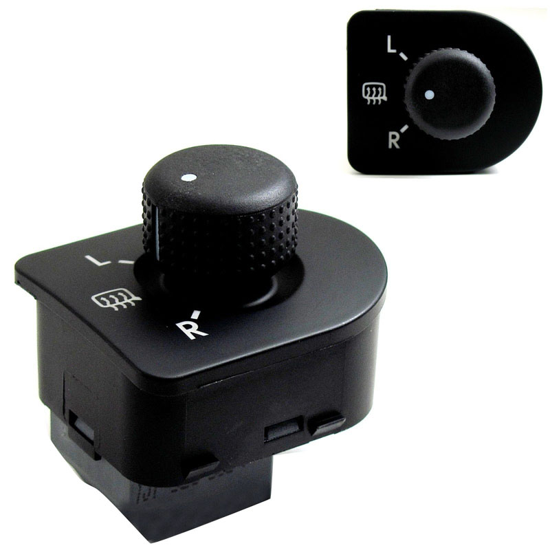Side Mirror Heat Controller Knob Switch OEM For Passat ...