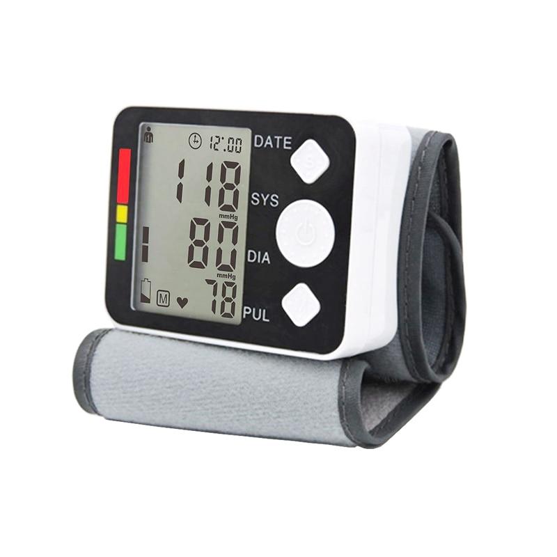 tonometer on the wrist blood pressure meter Monitor Digital Tonometer & Pulse Meter Health Care Sphygmomanometer diagnostic tool-in Blood Pressure from Beauty & Health