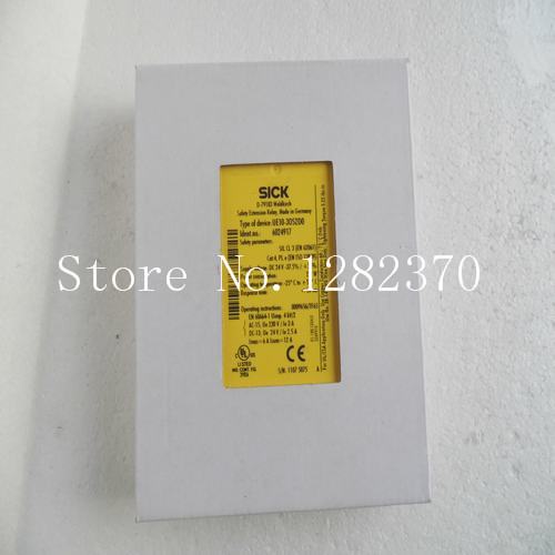 [SA] New German original authentic spot SICK safety relays UE10-30S2D0 [sa] new german original authentic spot harting connectors 064 470 100