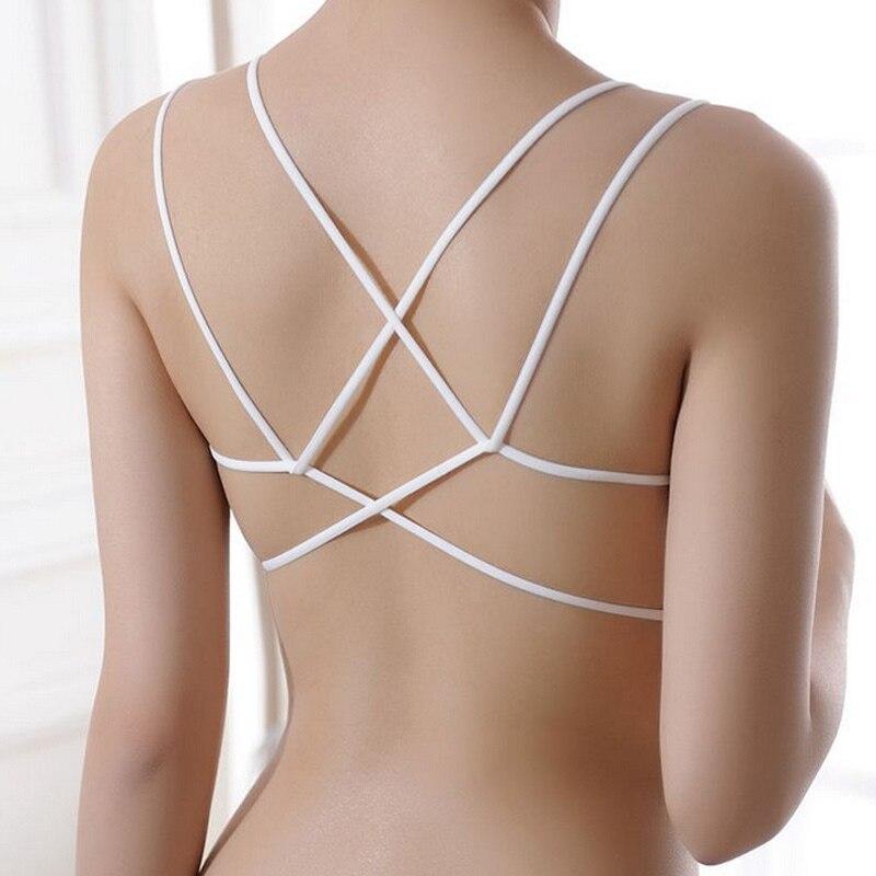 Li hong1 Womens Bra Full Cup Thin Underwear Plus Size Wireless Adjustable Bras,D,44 100 Red