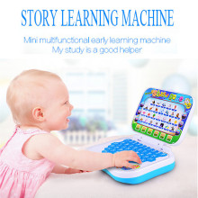 High Quality Fashion Multifunction Educational Learning Machine English Early Tablet Computer Toy Kid Free Shipping