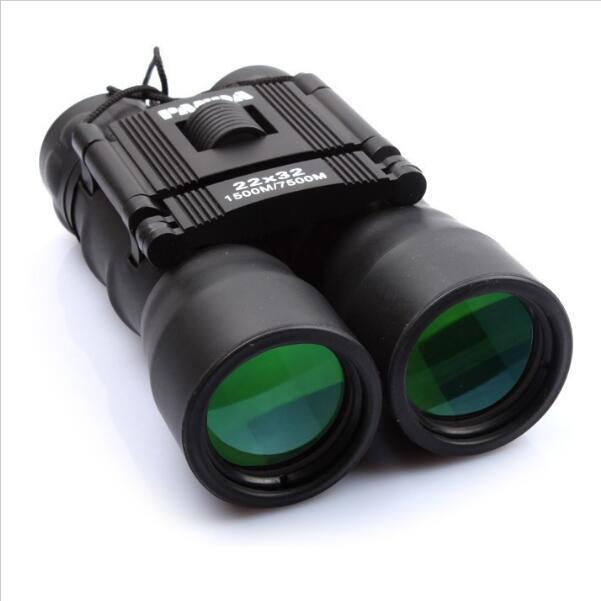 2017 Upgraded 22x32 Night Vision Binoculars Telescope Wide Angle Optical Lens Zoom Portable Folding Binocular Spy Telescopio Pec