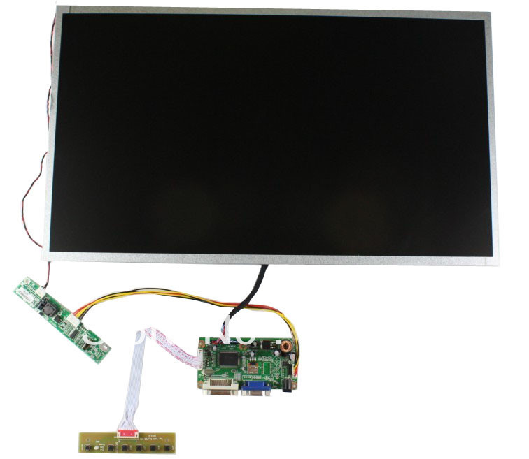 DVI+VGA LCD board +LVDS cable+Inverter with cable +OSD keypad with cable +M215HGE-L10