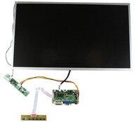 DVI + VGA LCD board + cabo LVDS + Inversor com cabo + teclado OSD com cabo + M215HGE-L10