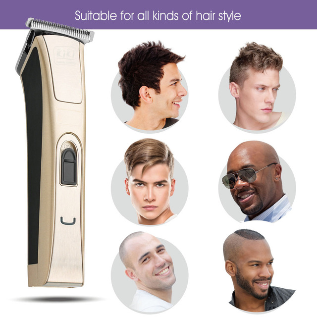 KIKI.Rechargeable Hair Clipper.Zinc-plated titanium.NI-MH battery.professional.Hair Trimmer.suitable for children