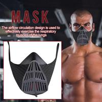 Workout Facial Mask for Aerobic Training High altitude Fitness Workout Running Resistance Elevation Cardio Endurance Mask