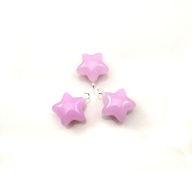 Aliexpress buy romantic violet star shaped acrylic pendants romantic violet star shaped acrylic pendants for diy 22mm 50pcslot mozeypictures Image collections