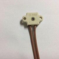 10 יחידות DHL משלוח חינם, BW 990 מחזיק מנורת קרמיקה הנורה הלוגן G4 GY4 GZ4, בעל מיקרוסקופ
