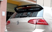 All Real Carbon Fiber Sports VOTEX Style Car Roof Spoiler Wing For Volkswagen GOLF 7 MK7