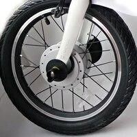 Xiaomi Mijia Qicycle EF1 Electric Scooter Bên Ngoài Lốp Lốp Bên Trong Ống 16 Inch cho Mini Có Thể Gập Lại Electric Bike E-xe đạp Xe Tay Ga