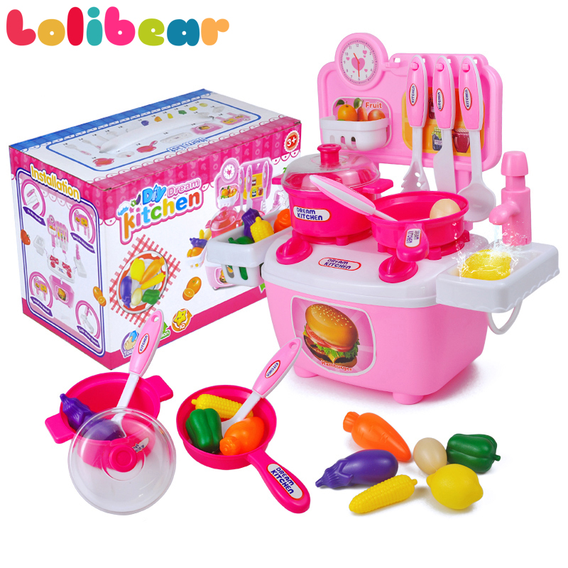 Kitchen Cooking Tools Toys Children Diy Pretend Play Simulated Plastic Early Education Kitchen Tools Classic Toys Gifts For Kids Pretend Play