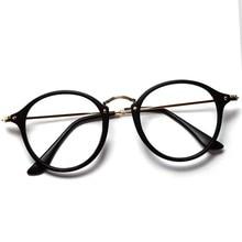 Women Men Vintage Round Eyewear Frames Retro  Optical Glasses Frame  Eyeglasses Goggle TY1