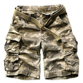 2017 New Mens Cargo Shorts Casual Male Shorts Military Camouflage Shorts Plus Size