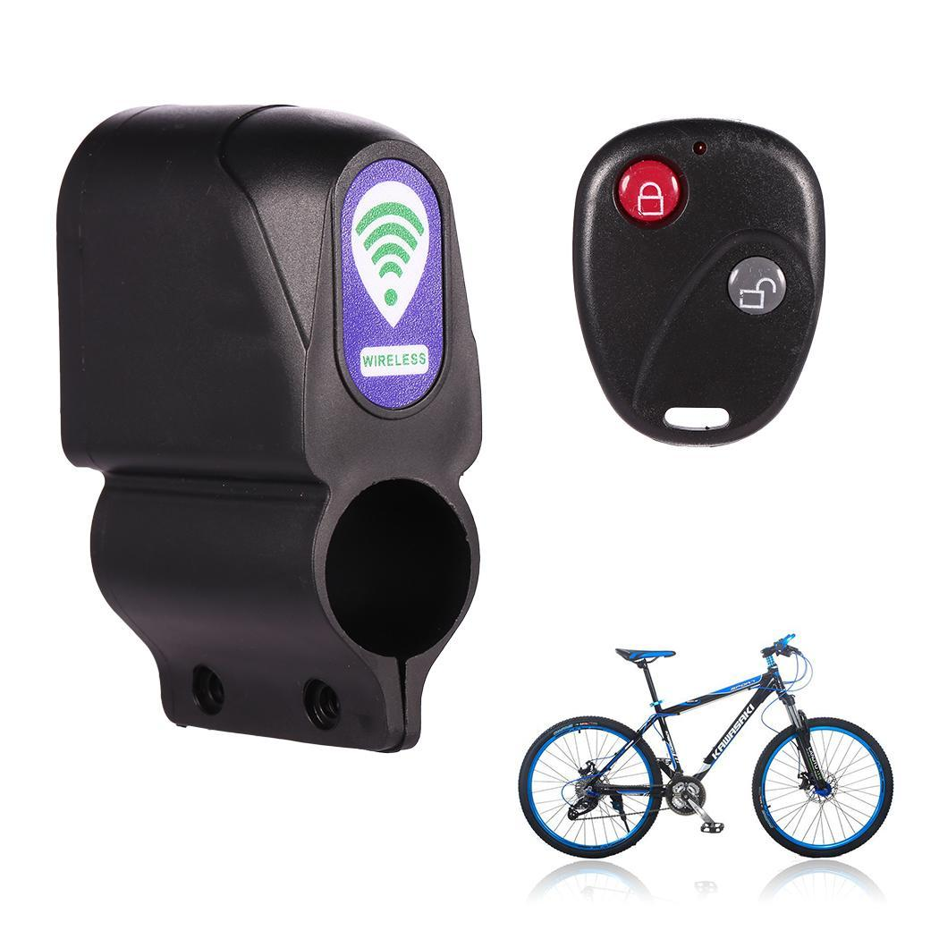 Bicycle Alarm Anti Theft Horn Password Lock Vibration Waterproof Control Cycling