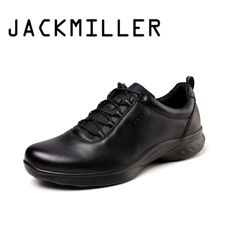 Jackmiller Top marque printemps nouvelles chaussures hommes à lacets basique solide noir Cool Sneaker hommes mode lumière chaussures décontractées respirantes
