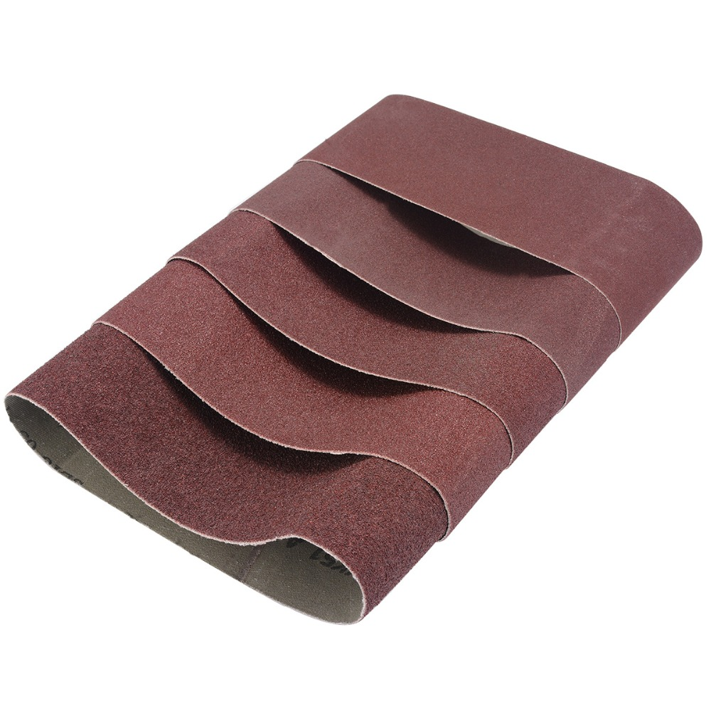 Tools Msb75457 New Fashion Tasp 5pcs 3 X 18 Belt Sander Sandpaper 75x457mm Sanding Belt Aluminium Oxide Abrasive Woodworking Tools