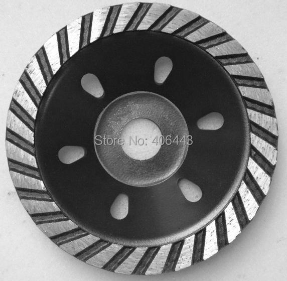 چرخ های چرخدار 4 اینچی توربو Row Diamond برای چرخ زاویه ای برای سنگ زنی گرانیت و بتن
