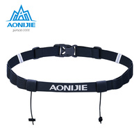 AONIJIE Unisex E4076 E4085 Running Race Aantal Belt Taille Pack Bib Houder Voor Triathlon Marathon Fietsen Motor met 6 Gel loops
