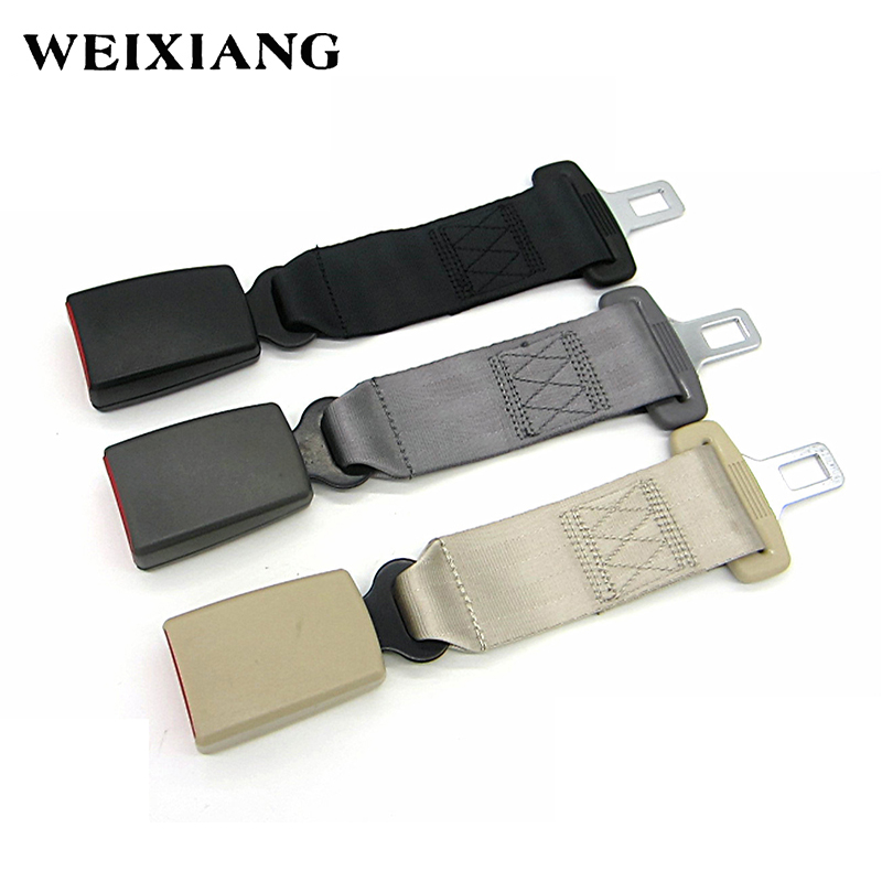 E24 7/8 Car Seat Belt Extenders Safety Belts Extension For Cars Automotive Extended Seatbelt For Child Seats Black Gray Beige