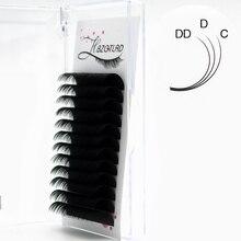 HBZGTLAD nouveau C/D/DD 8 20mm Faux vison cils individuels maquiagem cilios pour professionnels extension de cils de vison doux