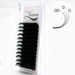 Image 1 - HBZGTLAD nouveau C/D/DD 8 20mm Faux vison cils individuels maquiagem cilios pour professionnels extension de cils de vison doux