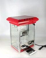 전기 팝콘 기계 상업 붉은 옥수수 포퍼 1175 w 3 분/1 트레이 생산 출력