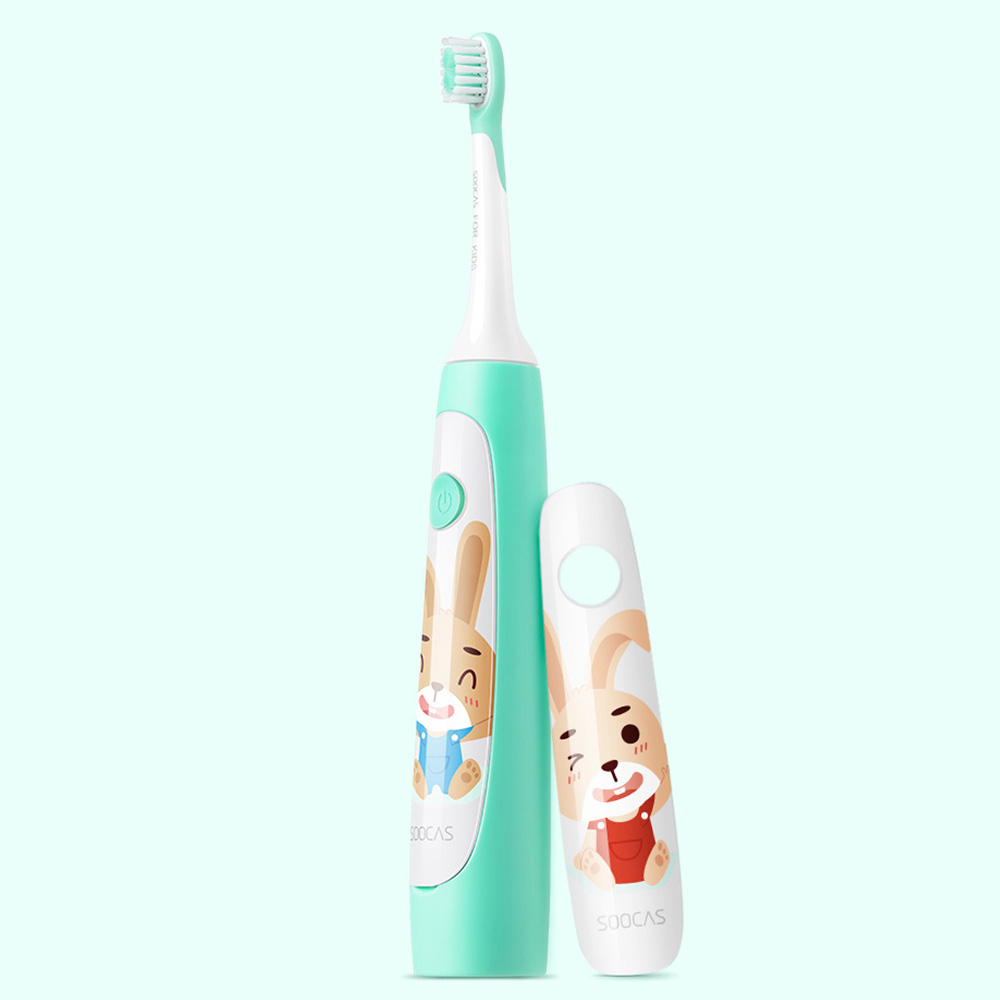 SOOCAS C1 Cute Waterproof Sonic Electric Toothbrush For Kids Rechargeable Ultrasonic Toothbrush Dental Care Tooth Brush image