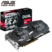 ASUS RX580 O8G Snow Leopard DUAL RX580 O8G 1360 1380MHz 8GHz game graphics mining graphics