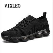 Vixleo повседневная обувь 2018 г. Новая модная мужская повседневная MAX дышащая Для мужчин открытый легкая обувь мужская обувь