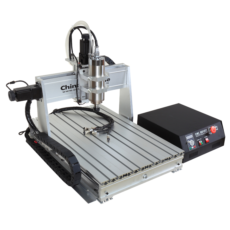 CNC 6040z 2.2KW 4 Assi Router Metal  Milling Engraver Machine USB Wood Cutter Aluminum DIY Carving Stable Independent Drive